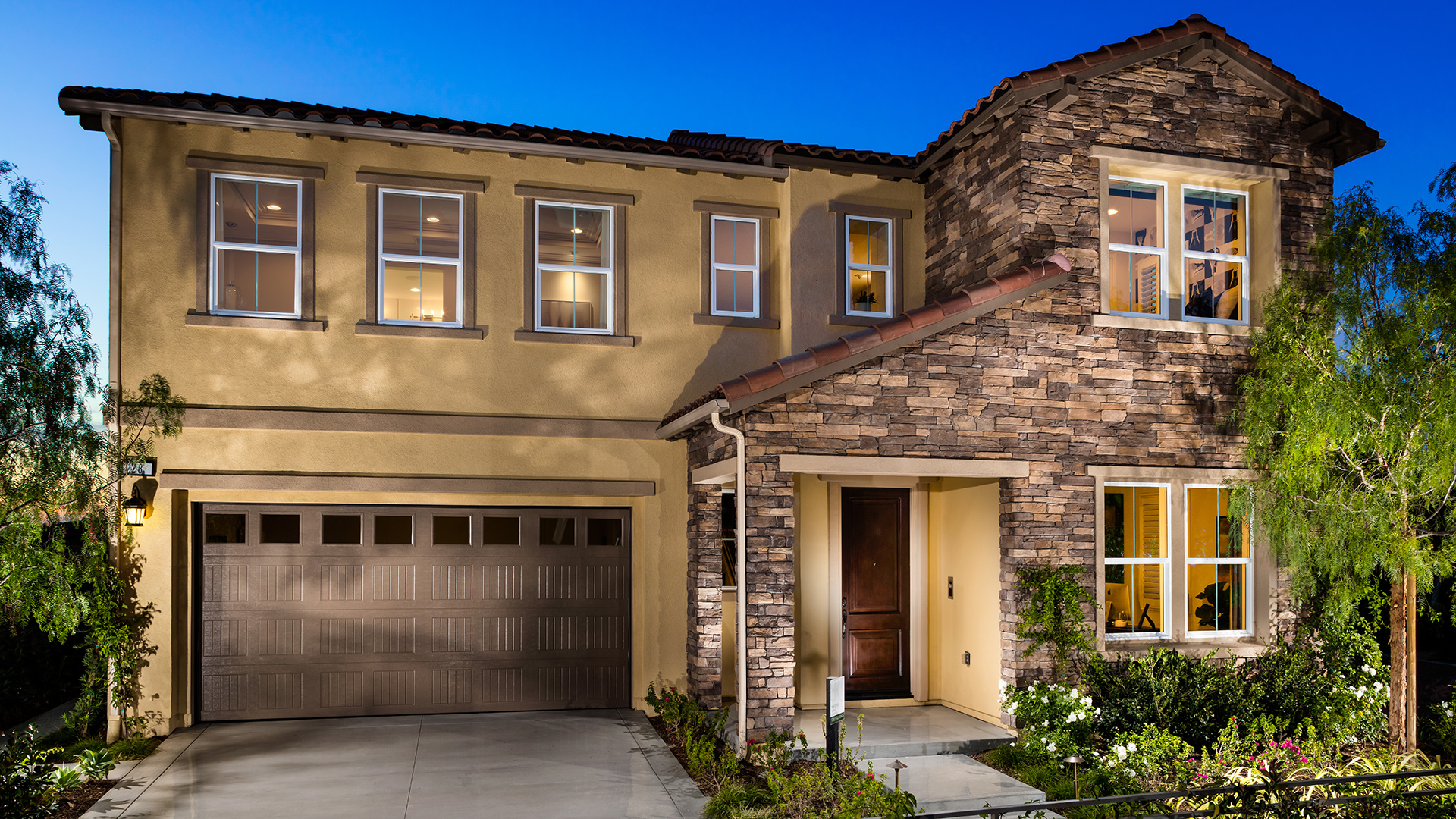 Come home to luxury when you live in this elegant two-story Toll Brothers home!