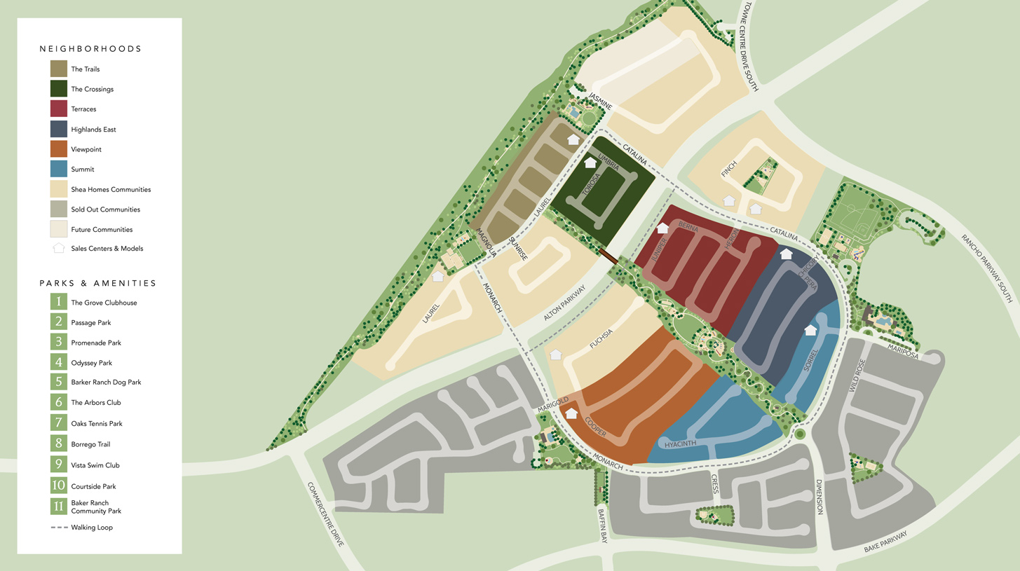 Baker Ranch Overall Site Plan