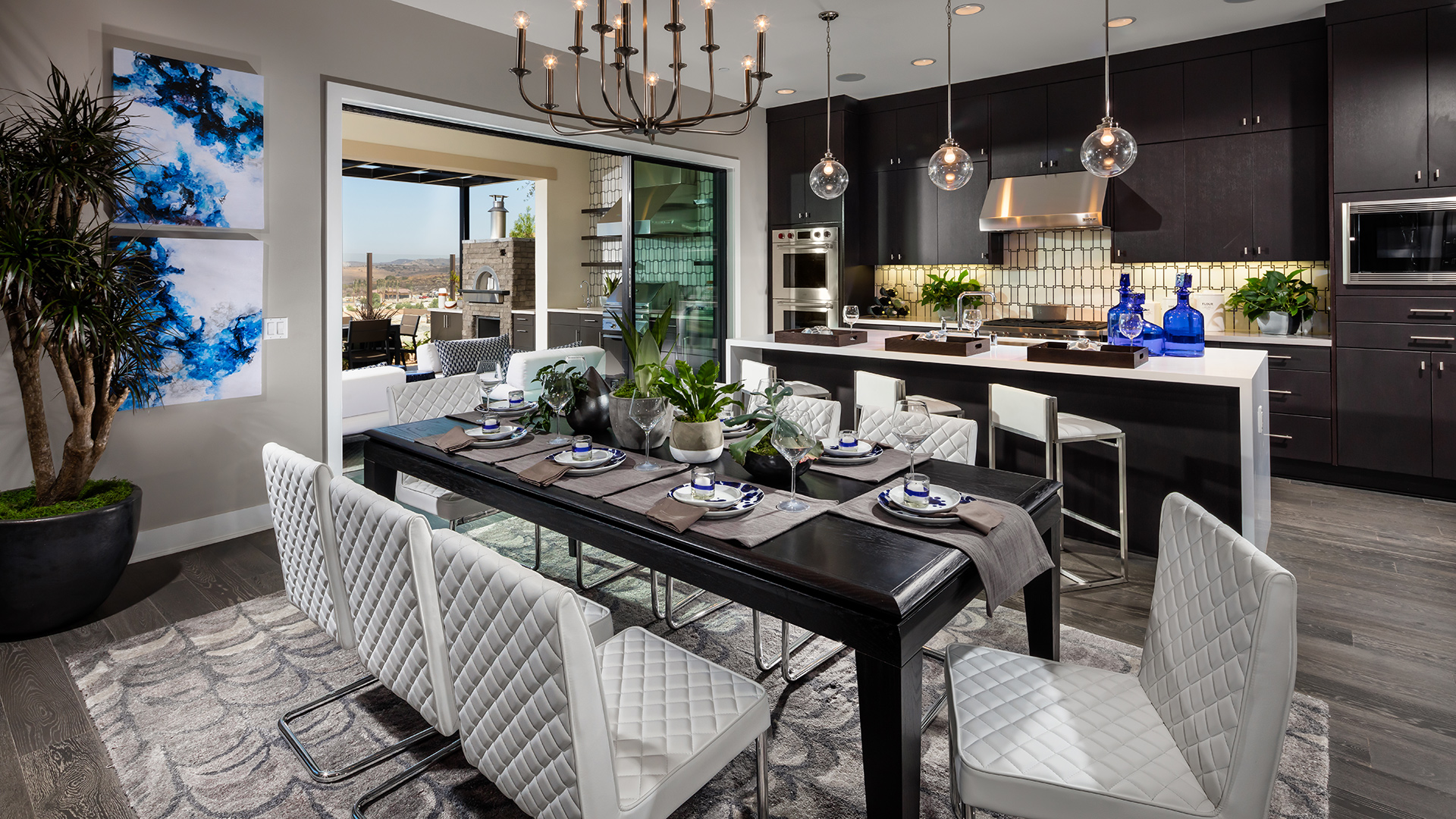 Spacious floor plans create the perfect environment for hosting friends and family.