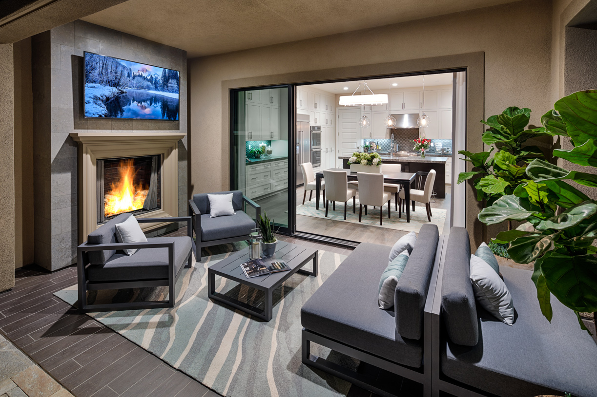 Luxury indoor/outdoor living spaces are an extension of your home