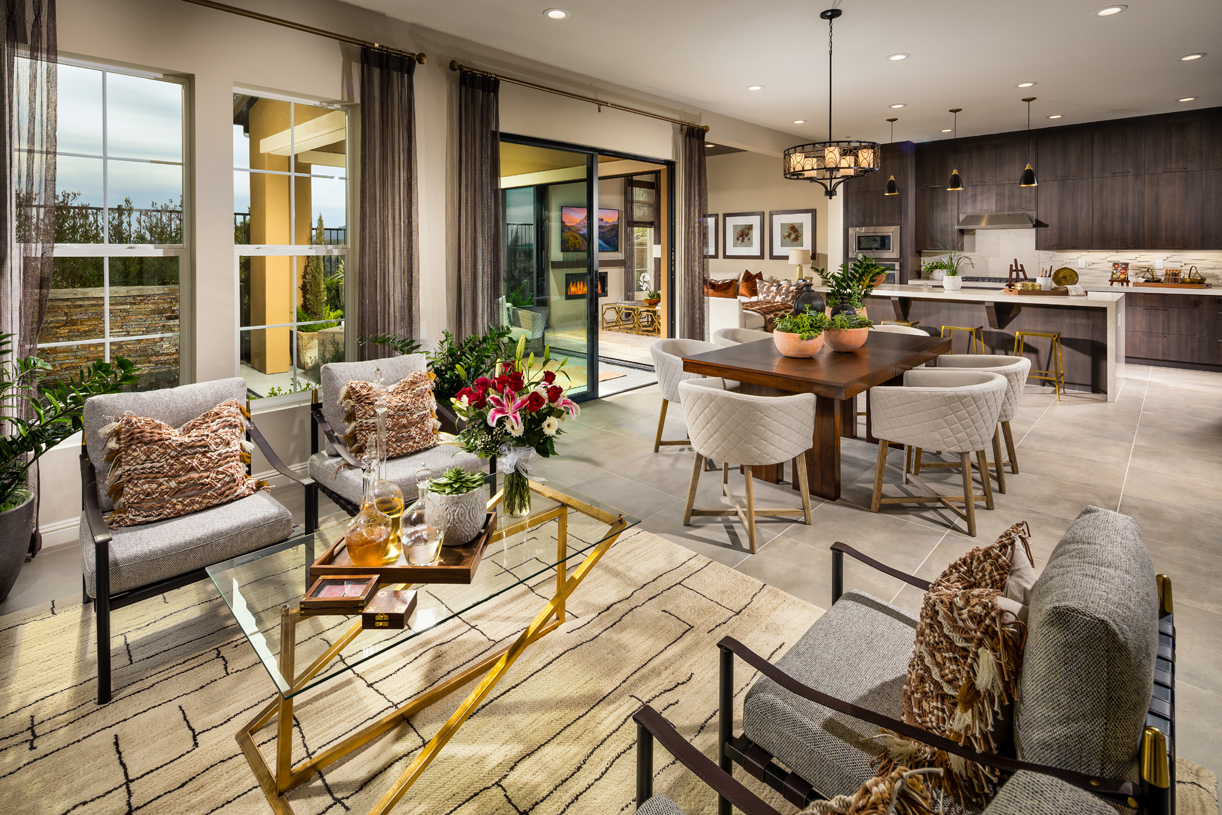 Spacious floor plans create the perfect environment for hosting friends and family