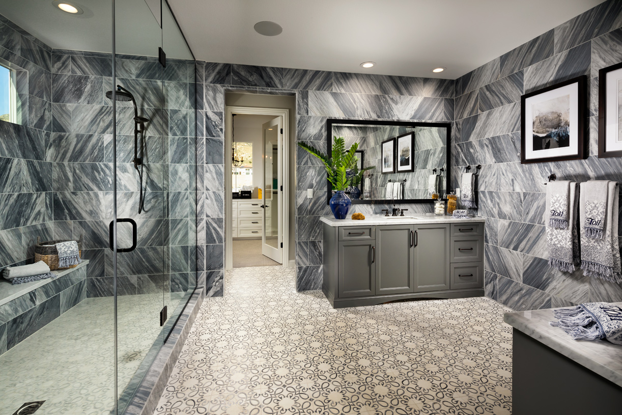 Luxurious primary bath retreat