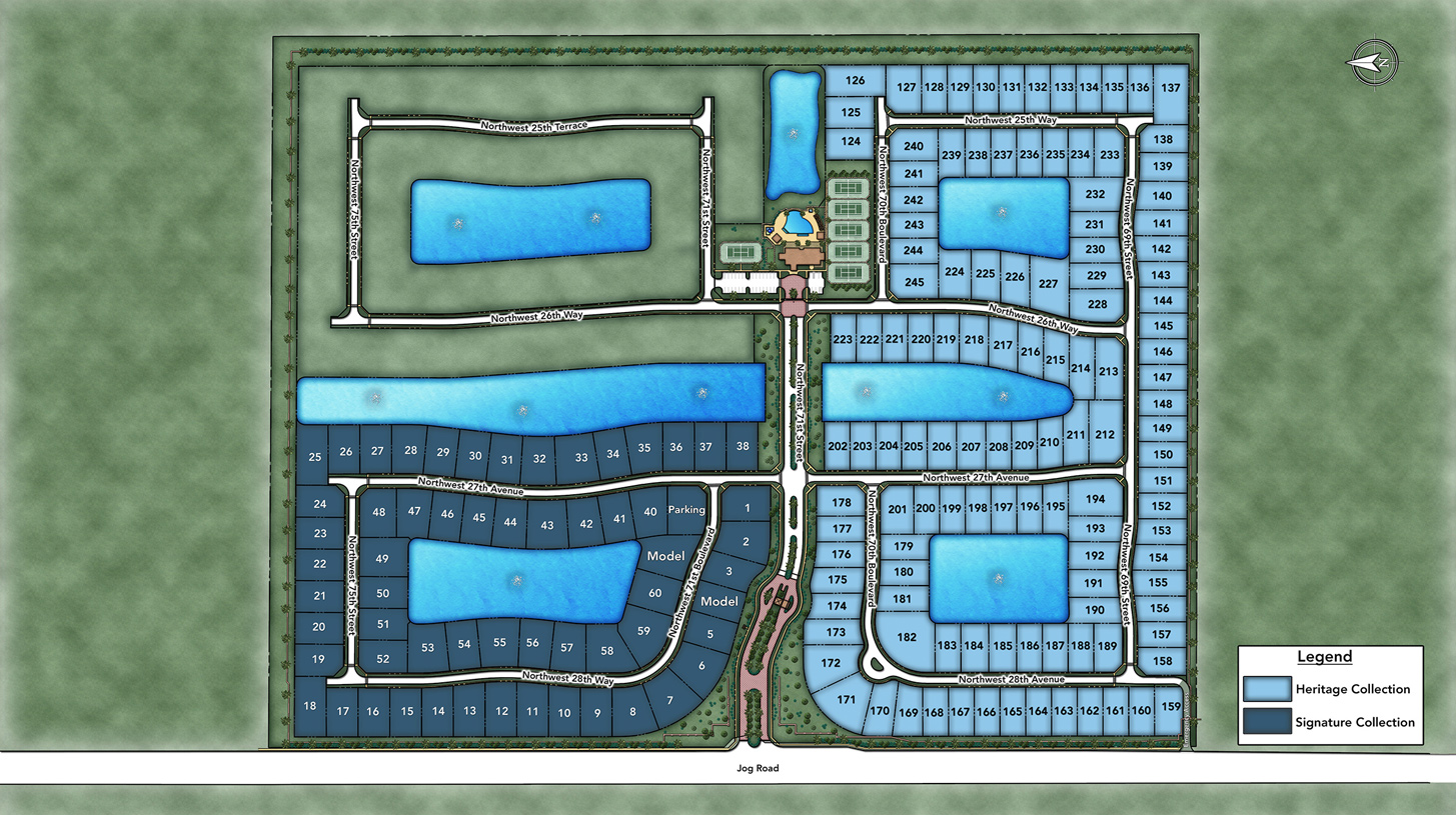 Royal Palm Polo Overall Site Plan
