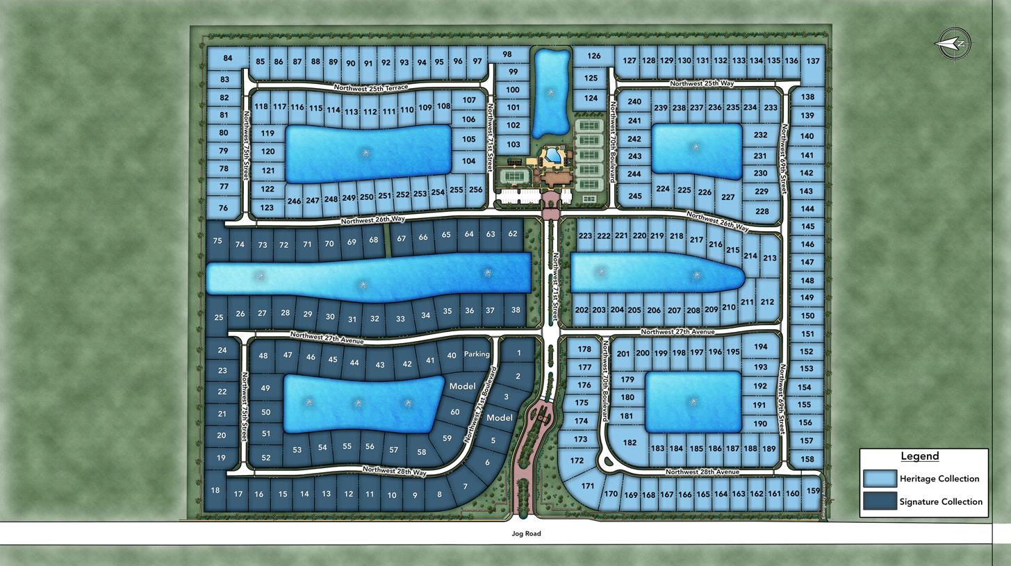 Royal Palm Polo Overall Site Plan