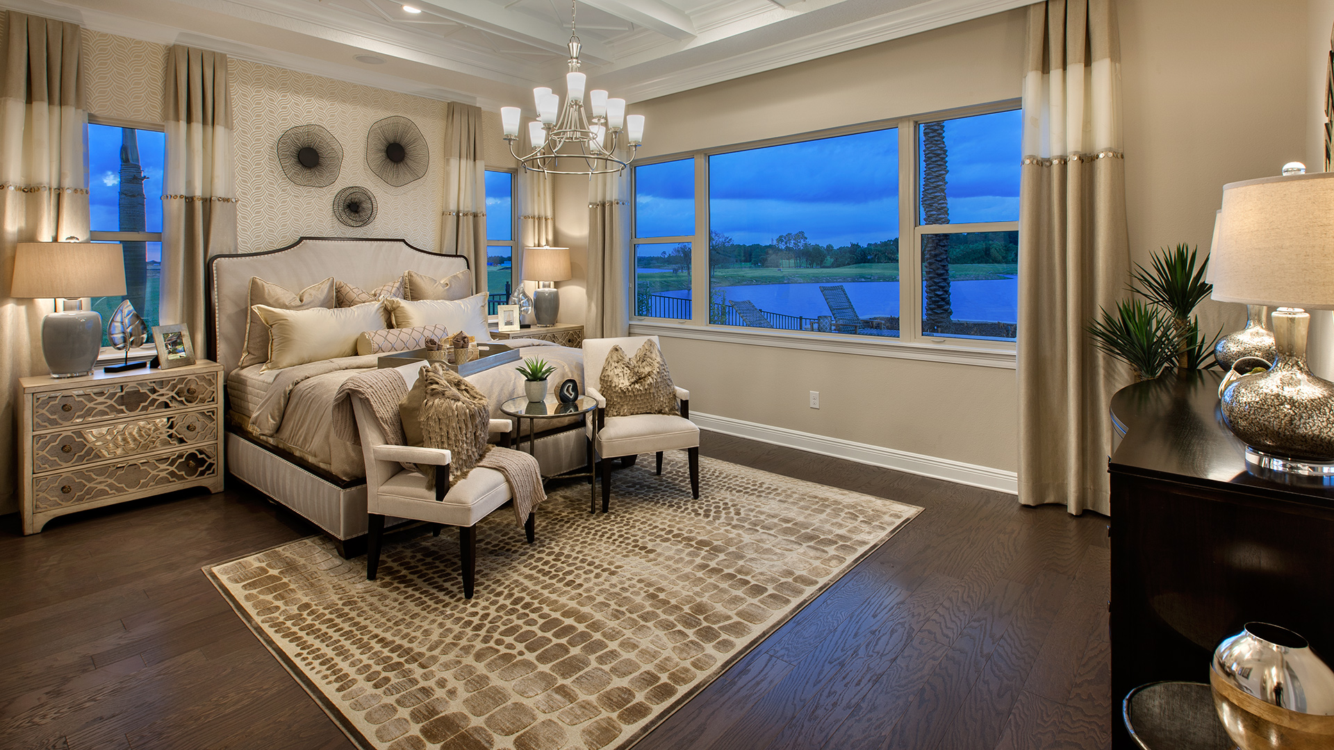 32 Stunning Luxury Master Bedroom Designs Photo Collection: Winter Garden FL New Homes For Sale