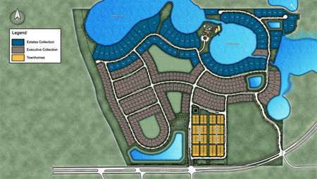 Lakeshore - Executive Collection Site Plan II