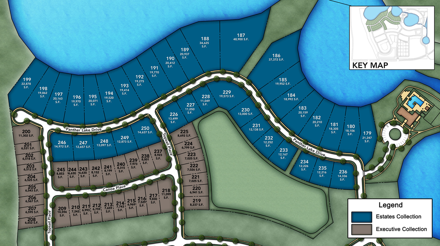 Lakeshore - Estate Collection Site Plan ll