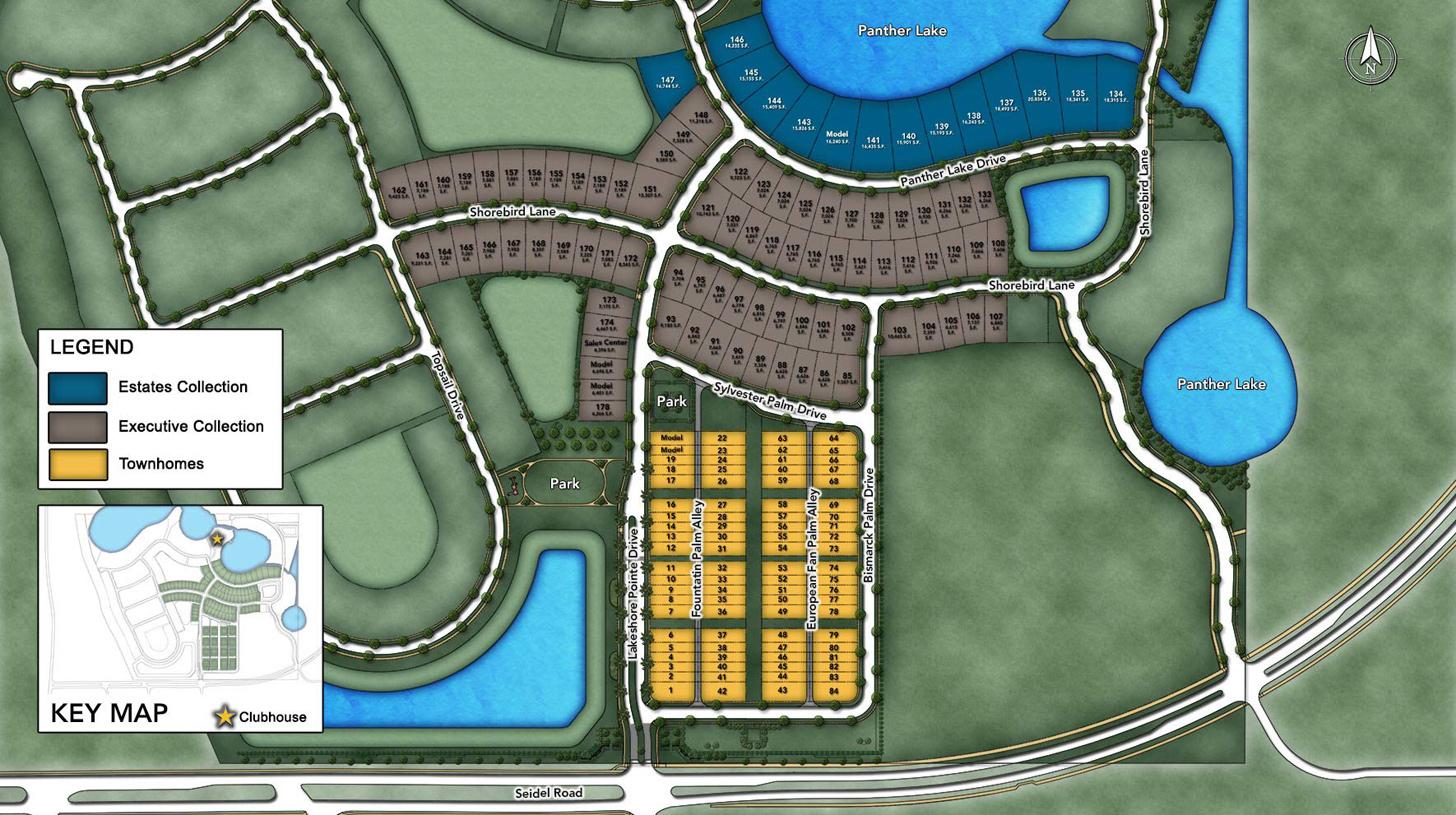 Lakeshore - Estate Collection Site Plan l