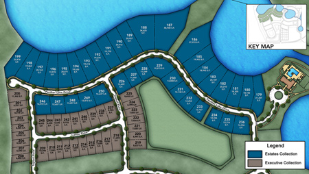 Lakeshore - Executive Collection Site Plan ll