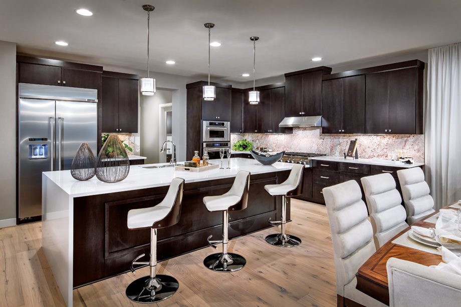 Sammamish wa new construction homes canterbury park for Gourmet kitchen designs