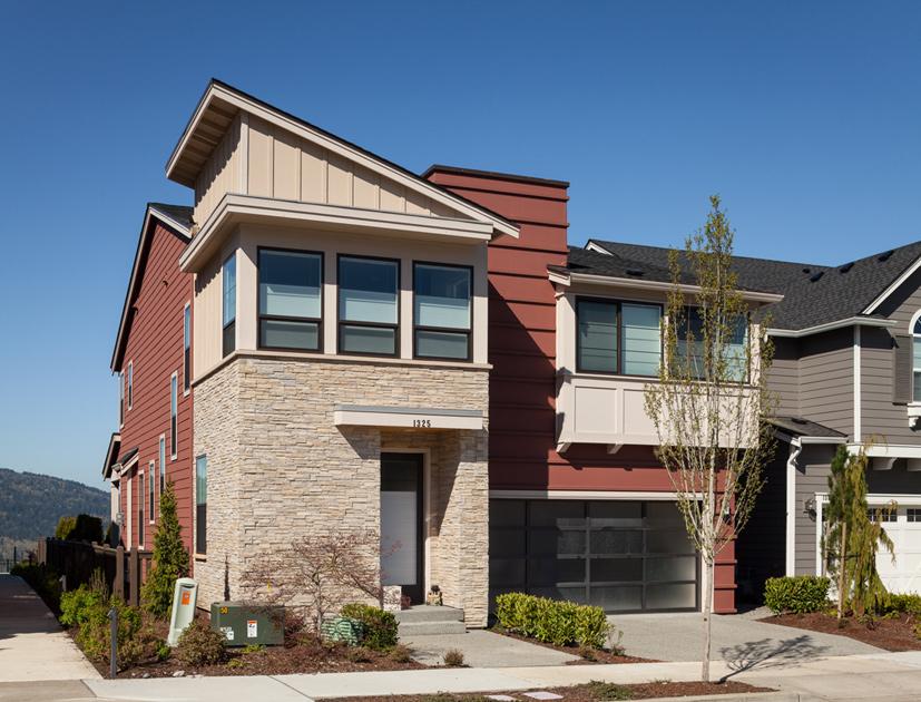 The Stuart Contemporary home design Sammamish WA