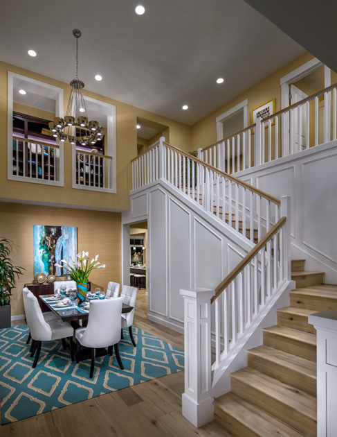 Many Home Designs Offer Stunning Two Story Foyers