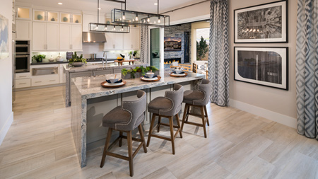 The Bluffs at Tassajara Hills offers the largest home designs within the master plan community and feature expansive home sites, stunning views