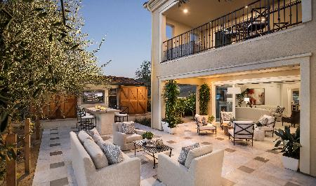 Luxury Outdoor Living Space