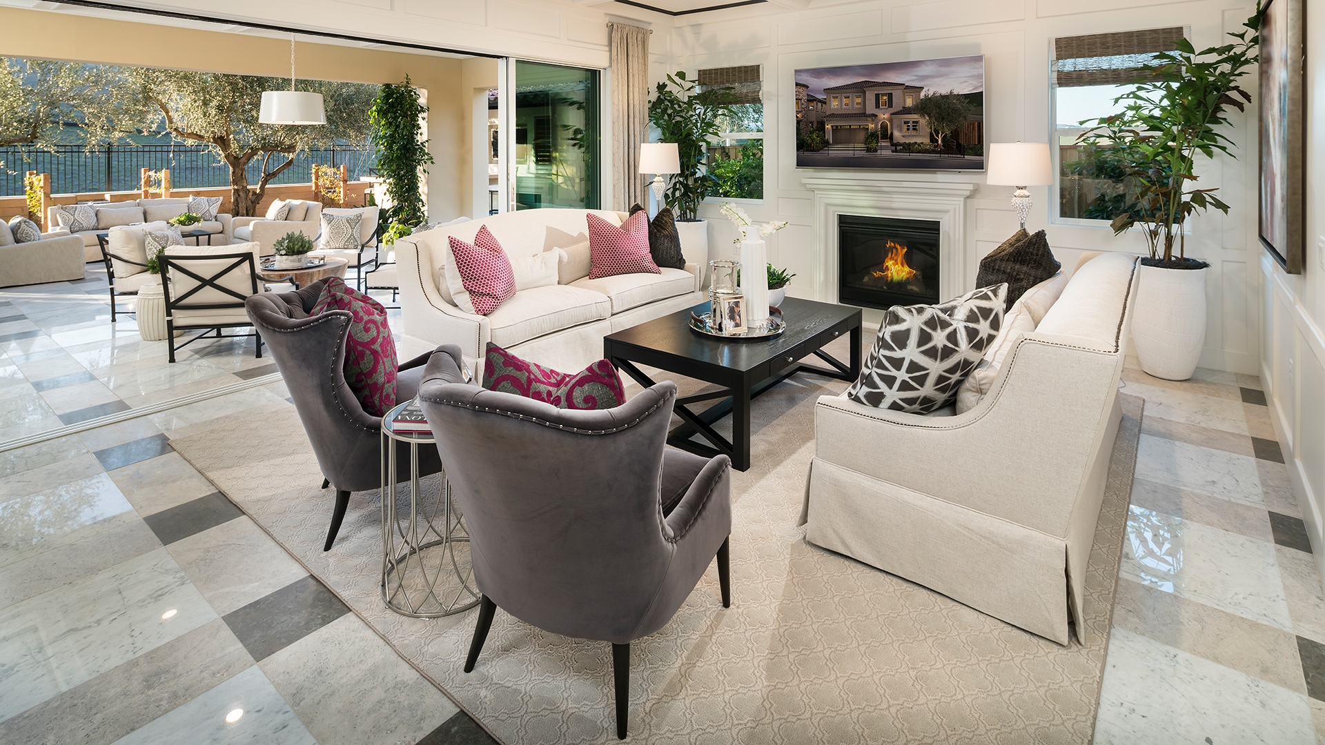 The Knolls at Tassajara Hills offer spacious home designs with impressive outdoor living options