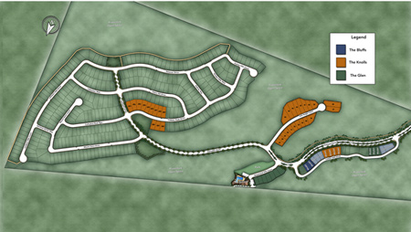 The Knolls at Tassajara Hills Site Plan I Siteplan