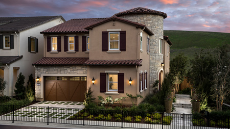 The Wisteria Model Home Exterior