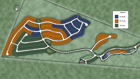 Tassajara Hills Overall Site Plan Siteplan