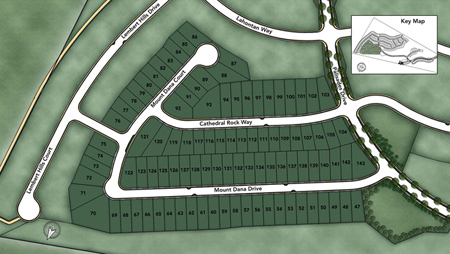 The Glen at Tassajara Hills Site Plan Siteplan
