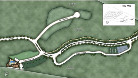 The Glen at Tassajara Hills Site Plan II