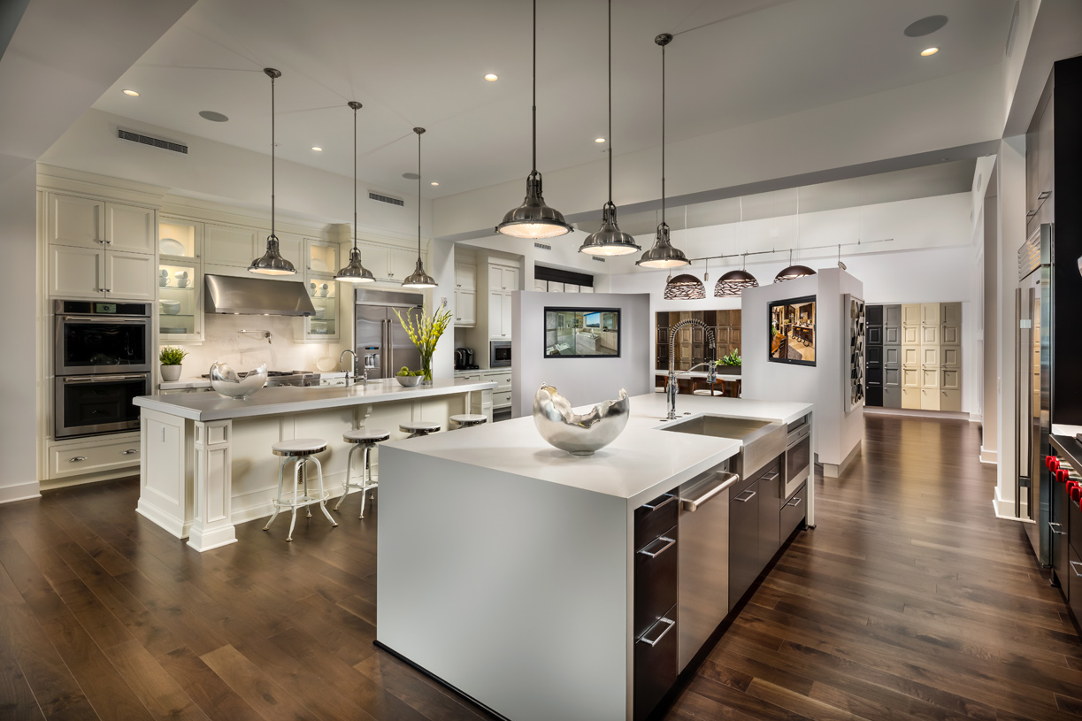 State-of-the-art Design Studio exclusively open to Toll Brothers buyers to customize their new home