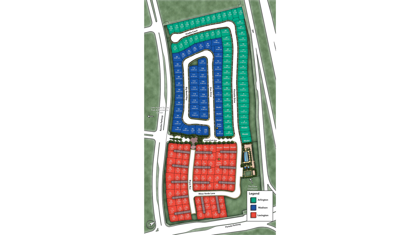 Parkside Overall Site Plan