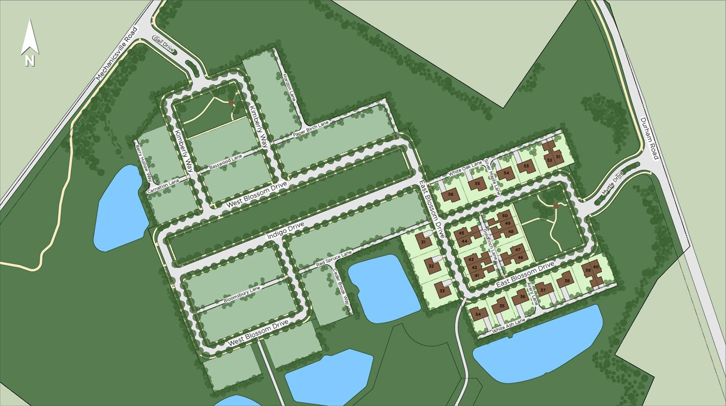 Fenton's Corner - The Heritage Collection Site Plan