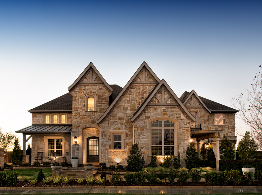 Frisco tx new homes master planned community phillips for Executive ranch homes