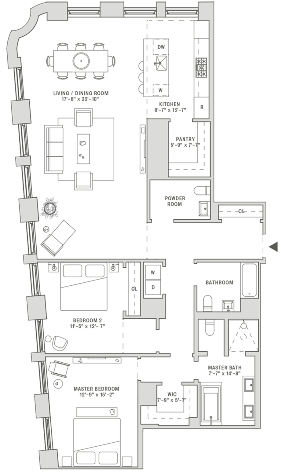 Residence 2A