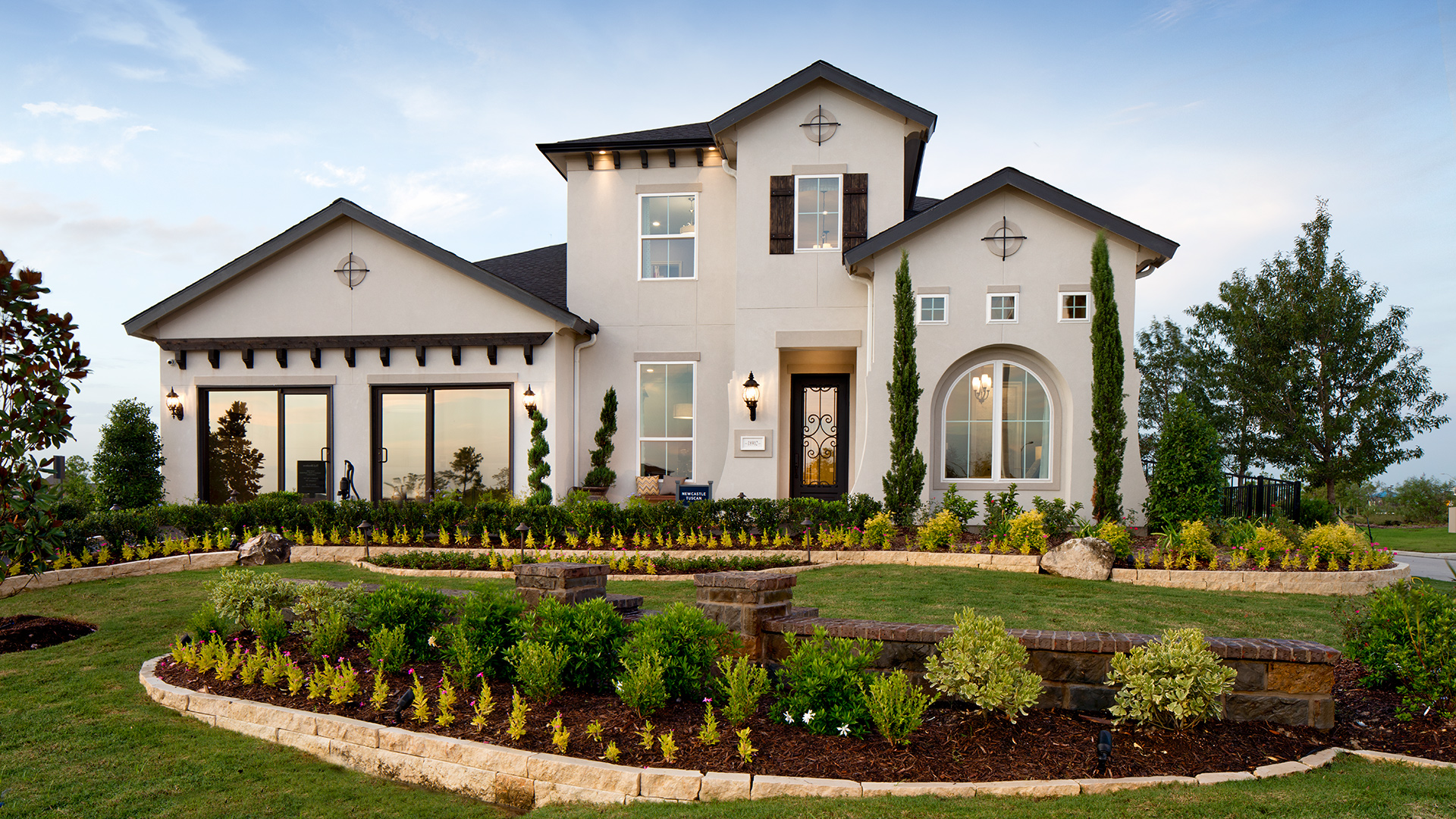 Newcastle Tuscan Model Home Now Open - Bridgeland - Cypress, TX