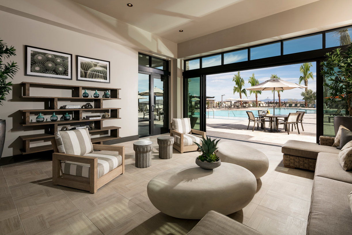 Regency at Summerlin Clubhouse cabana