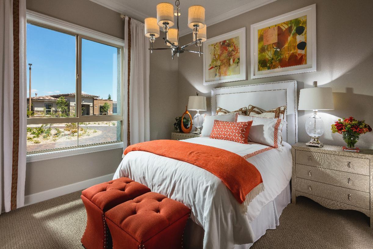 Bright secondary bedroom