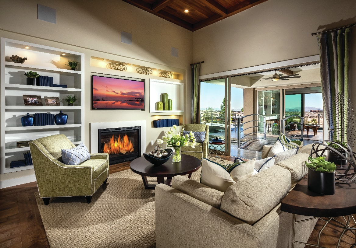 Spacious great room perfect for entertaining