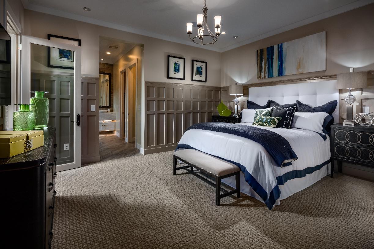 Beautiful primary bedroom suite