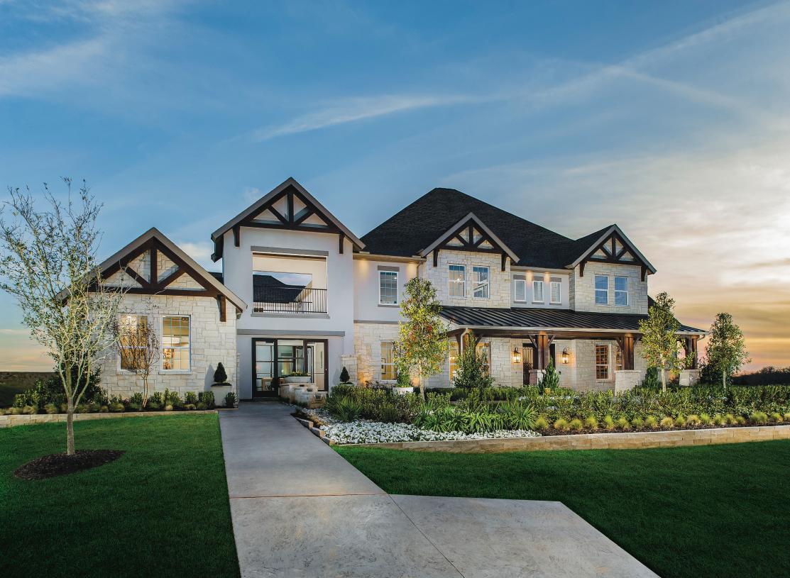 The prestigious details of the Monte Verde model home