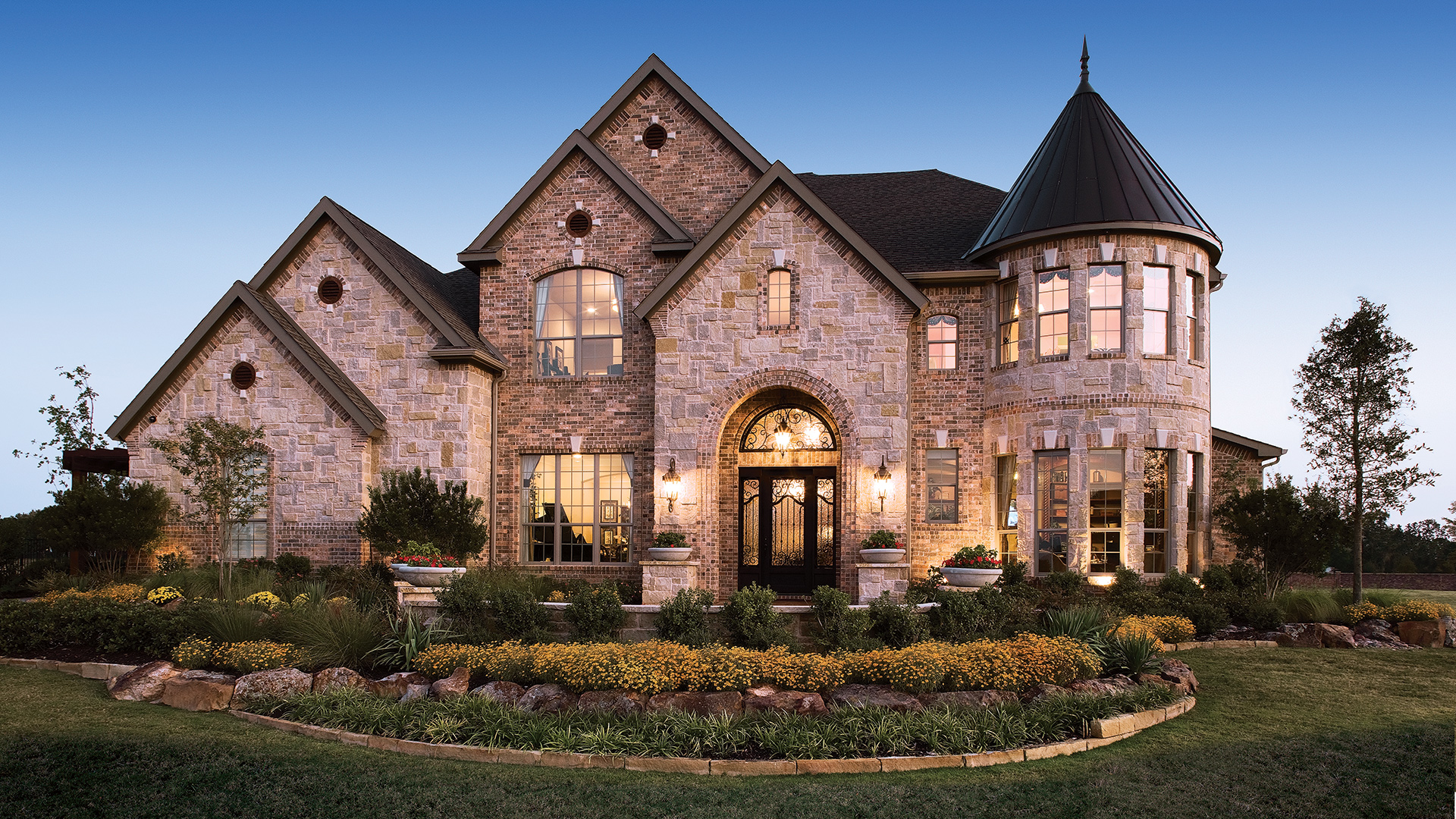 Flower Mound Tx New Construction Homes Town Lake At
