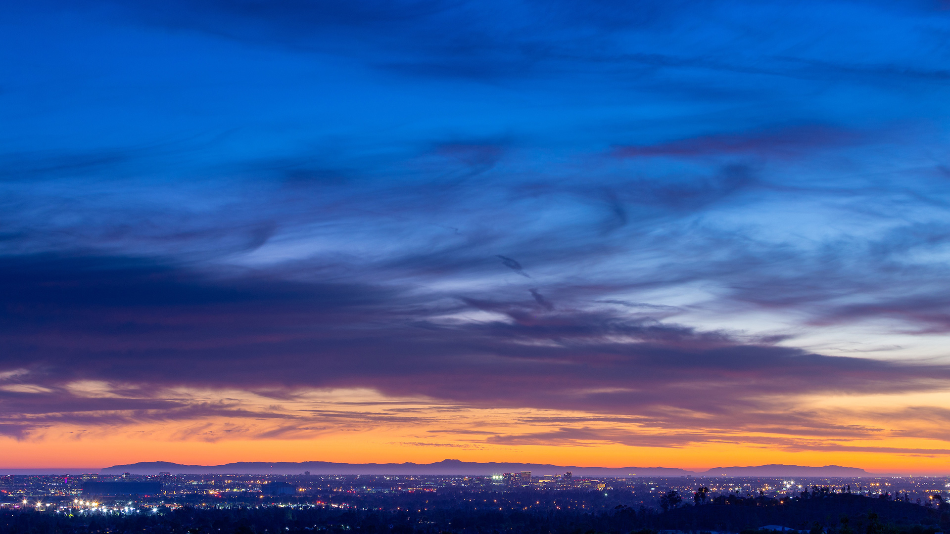Alta Vista at Orchard Hills offers breathtaking views of Orange County and Catalina Island.