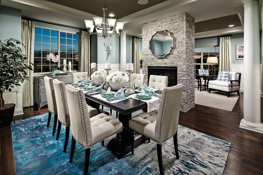 Erie co new homes for sale toll brothers at flatiron for Model home dining room