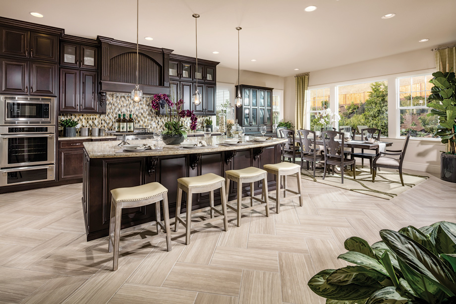 Stunning New Single Family Homes At Alita Features Three Beautiful  Two Story Home Designs.
