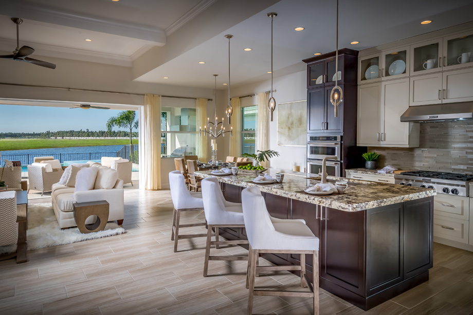 Toll Brothers - Azure at Hacienda Lakes - Estate Collection Photo
