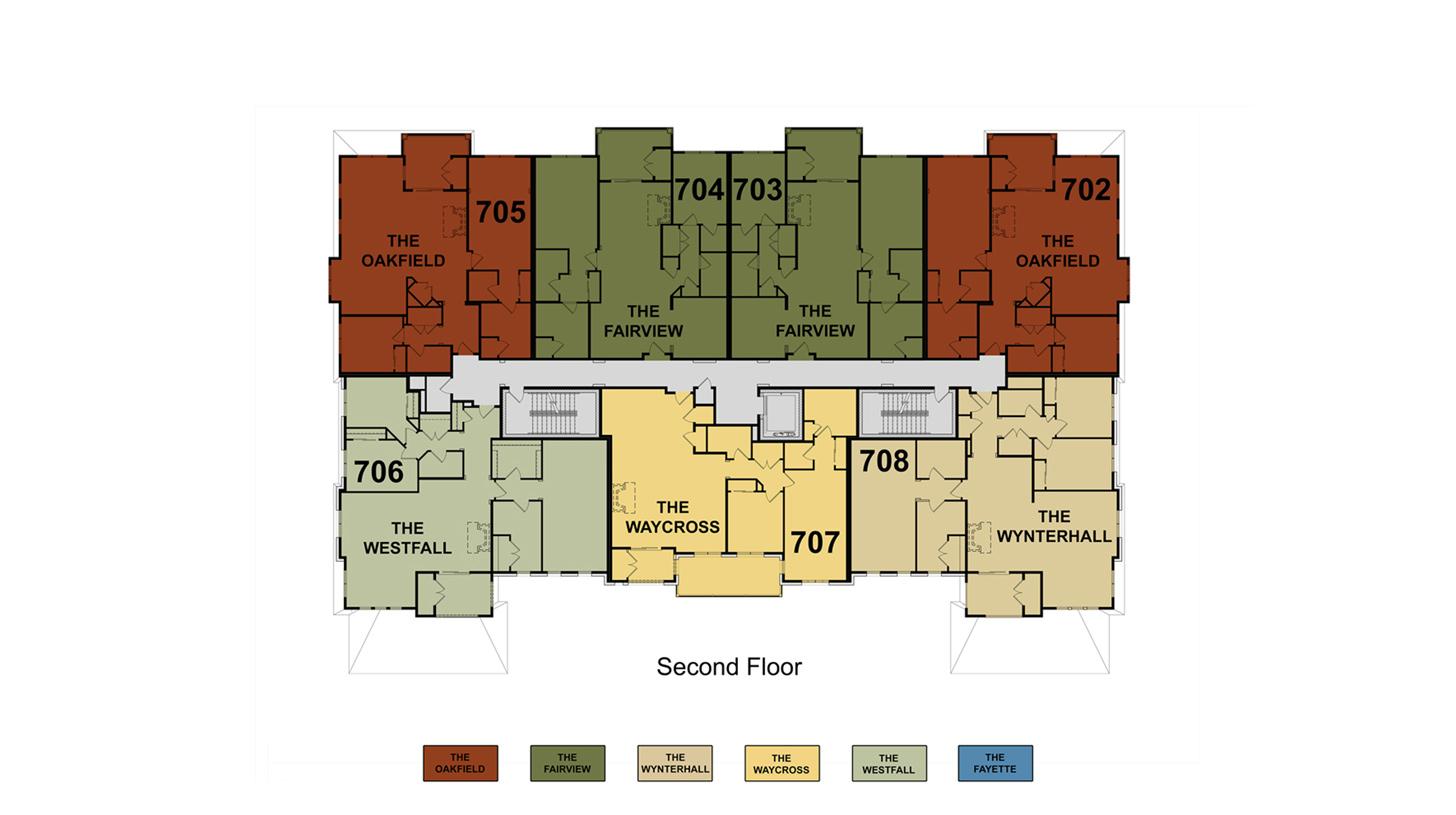 Building 7 Floor 2 Site Plan
