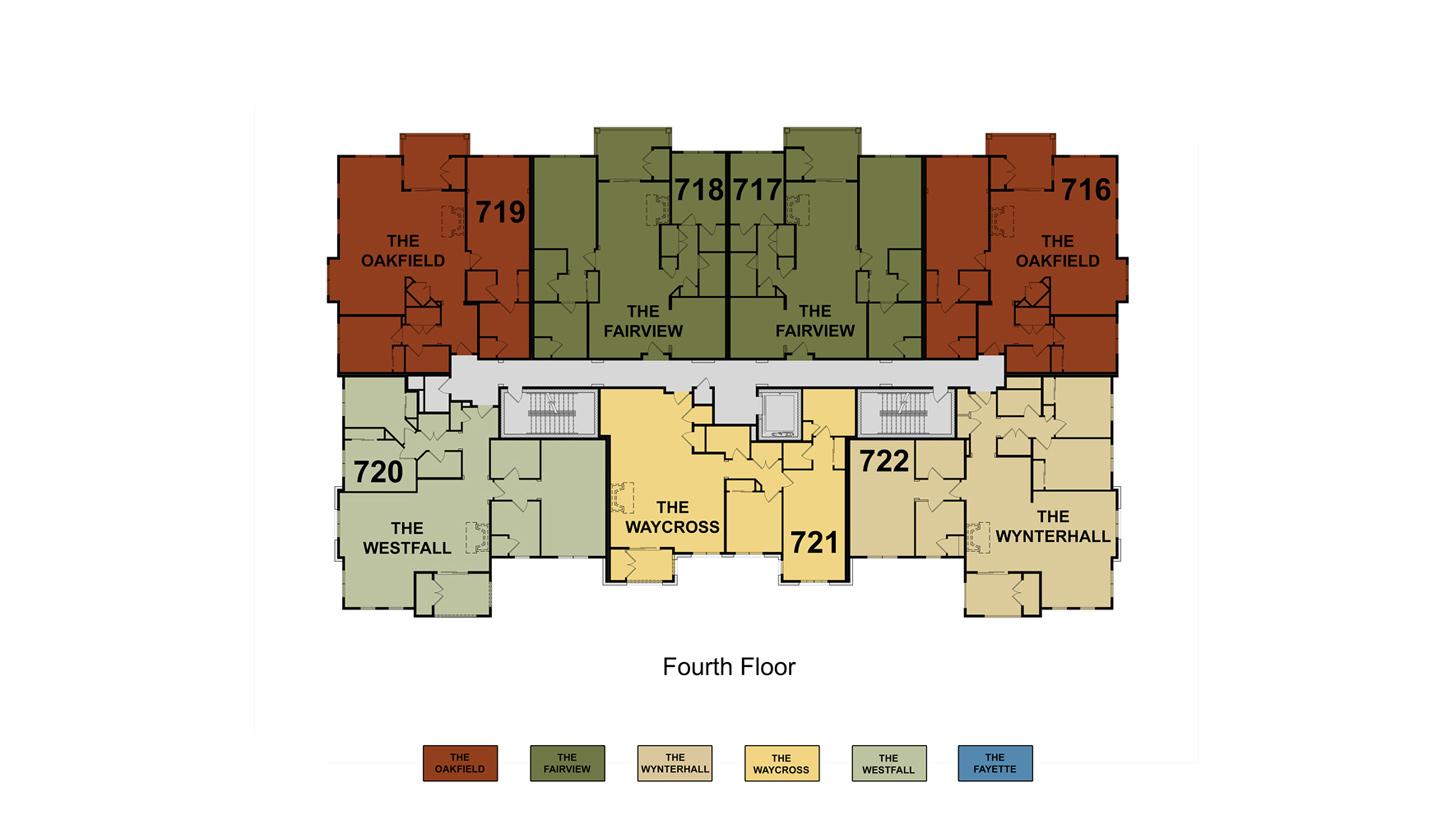 Building 7 Floor 4 Site Plan