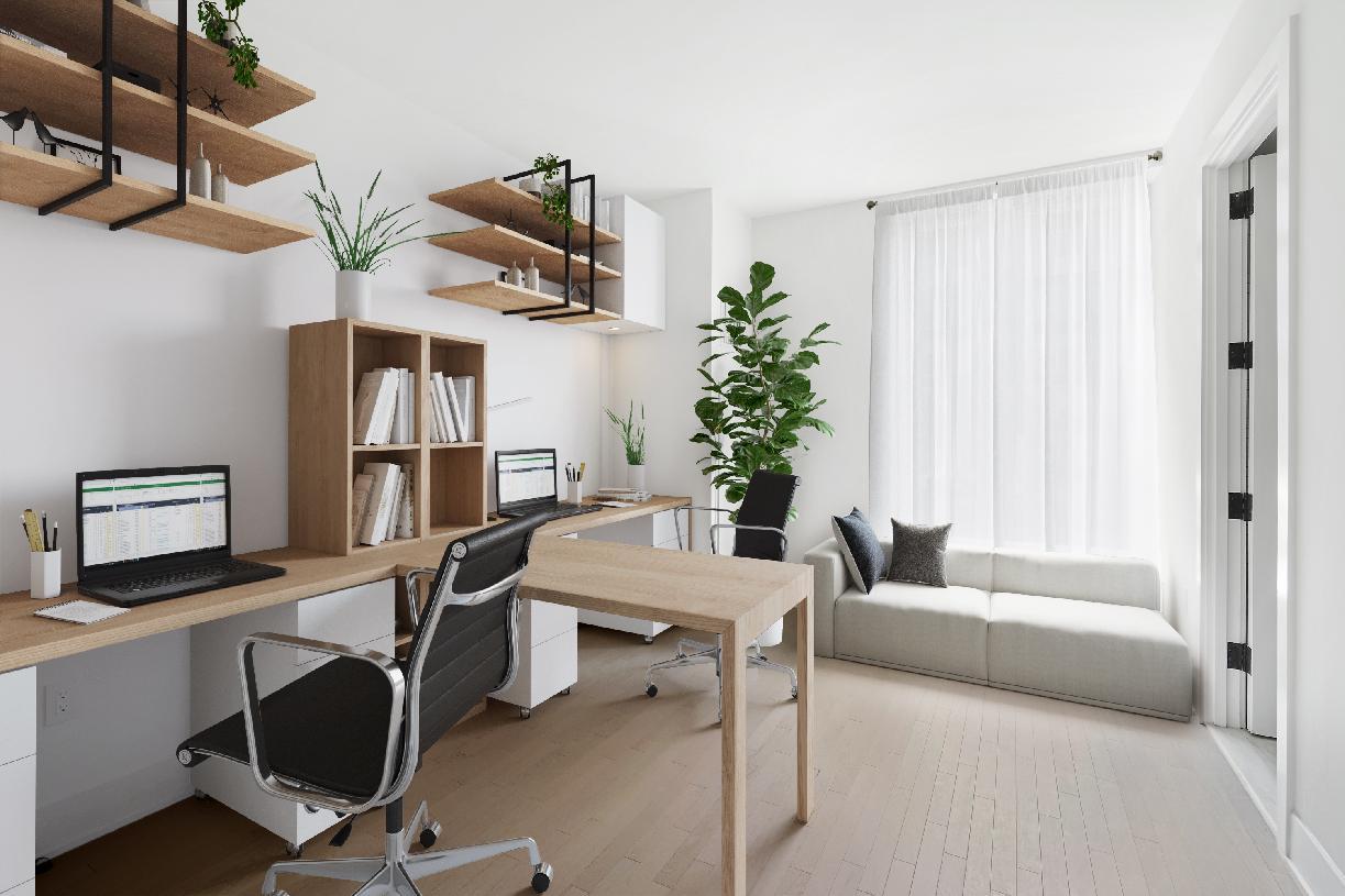 Residences 14E-15E home office