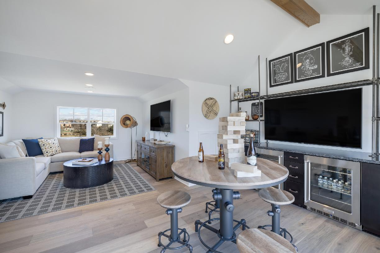 Loft options provide additional space for entertainment