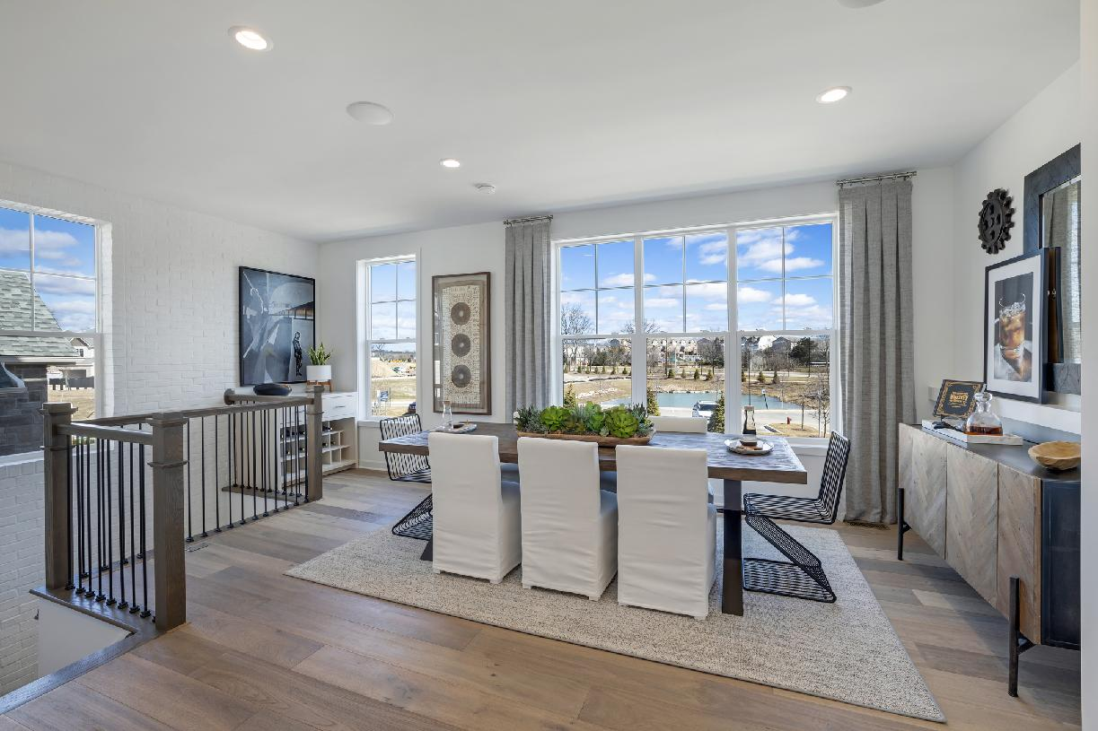 Alternate dining room with great room option