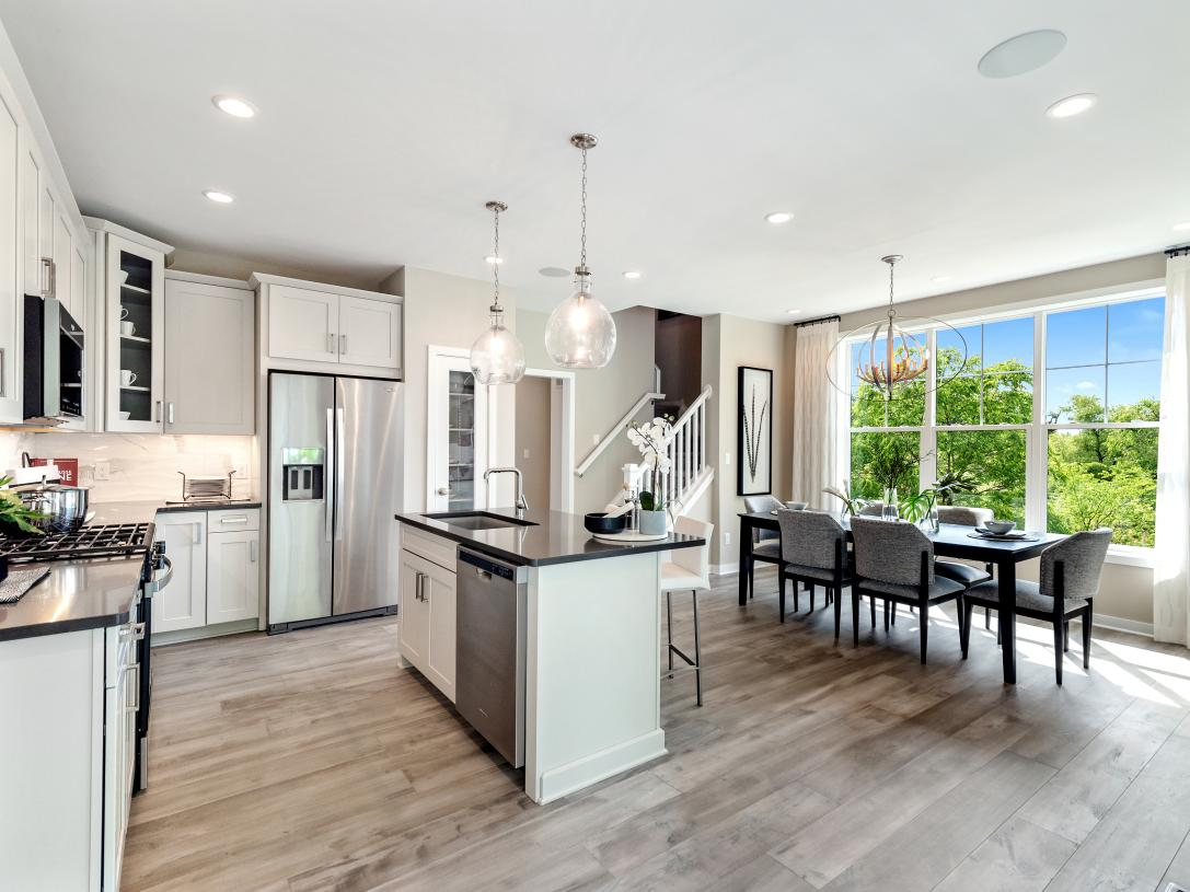 Standard kitchen alternate view - Kitchen great room area perfect for dining for comfort seating