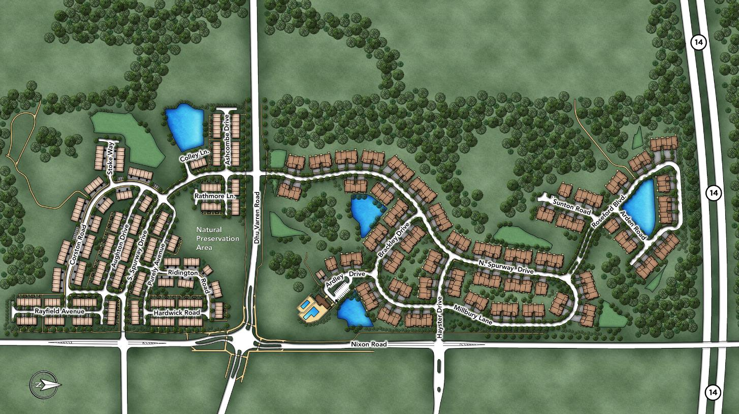 North Oaks of Ann Arbor Overall Site Plan