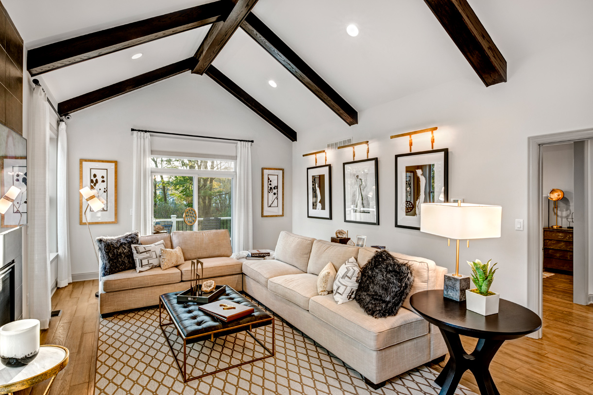Expansive great rooms