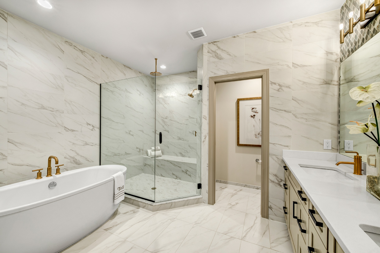 Lavish primary baths