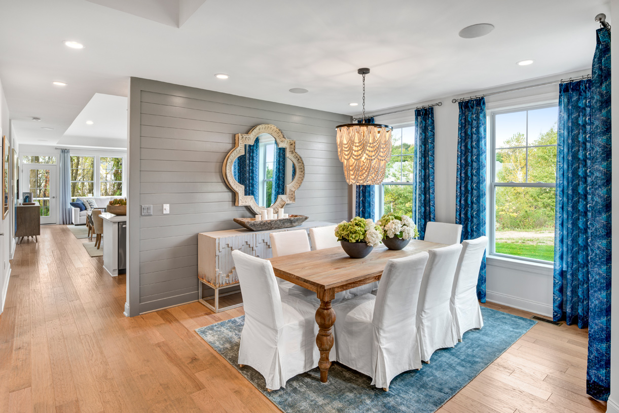 Formal dining areas